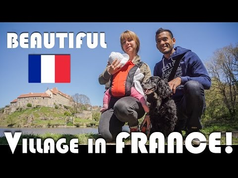 THE MOST BEAUTIFUL VILLAGE IN FRANCE! - FAMILY VLOGGERS DAILY VLOG