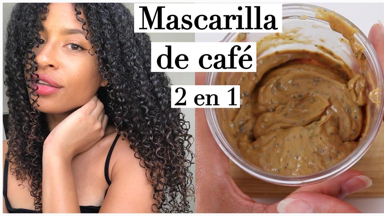 original mejor calificado 100% genuino amplia selección Hidratación + Crecimiento con café   Mascarilla casera   FRIZZYDESI