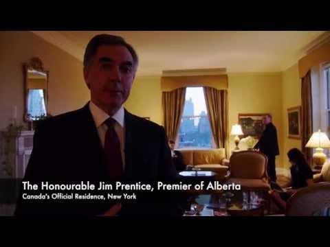 New York Minute: The Honourable Jim Prentice, Premier of Alberta