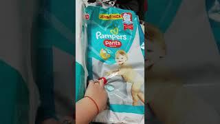 Обзор памперсов Baby Pants 4 и Pampers Pants 4