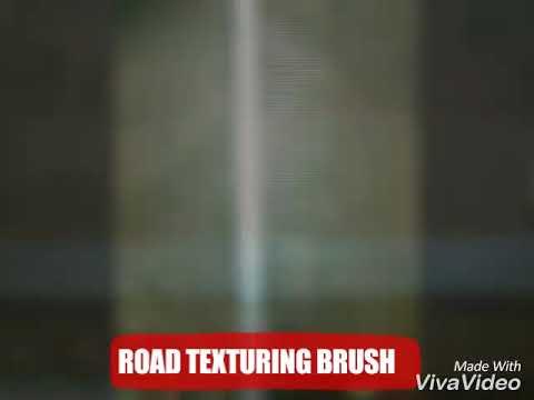 Road Texturing Brush/PQC ROAD BRUSH