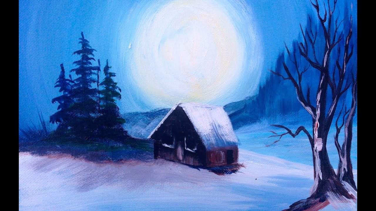 Bob Ross In Acrylic Ways You Can Still Paint Along Youtube