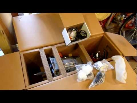 T-56 Magnum 6-speed transmission by Hurst - unboxing