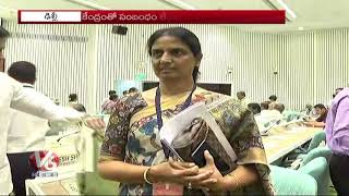 Minister Sabitha Indra Reddy Attended For Central Advisory Board Of Education Meeting | Delhi | V6