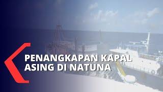 3 Kapal Asing Asal Vietnam Ditangkap di Laut Natuna