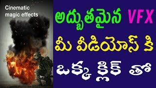 Best Vfx effects app for android | Apply graphics to videos on android |best video editor telugu