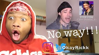 ONE GUY 54 VOICES (With Music!) Famous Singer Impressions | NO WAY!!REACTION!!