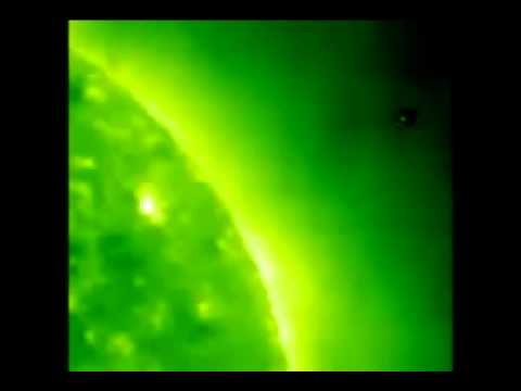 Earth sized UFO mother ships around SUN ????