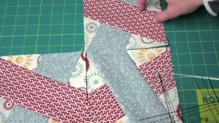 Pravítko na patchwork X Block Tool 7-1/2in video