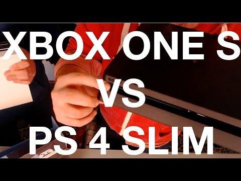 Xbox One S vs PlayStation 4 Slim. Трогаем, нюхаем, гладим