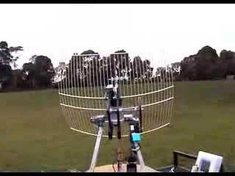 20050712 Aerobotics - UAV Tracking Antenna @ Monash by gke3800