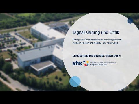 Semestereröffnung: Digitalisierung Und Ethik