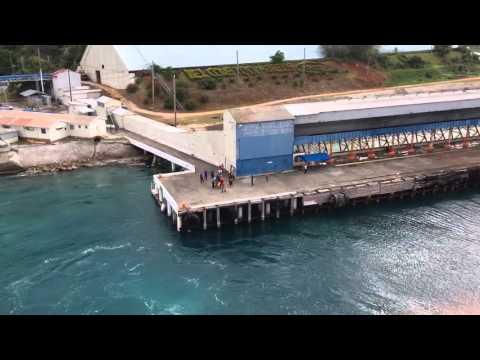 Pier Runners, Ocho Rios, Jamaica 4/18/2016 5:15 pm.