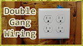 How To Wire a Double Receptacle - YouTube