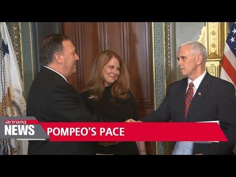 Trump entrusts Pompeo with full authority in preparing North Korea summit