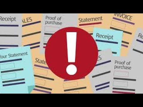 Basic record keeping for the Self Employed