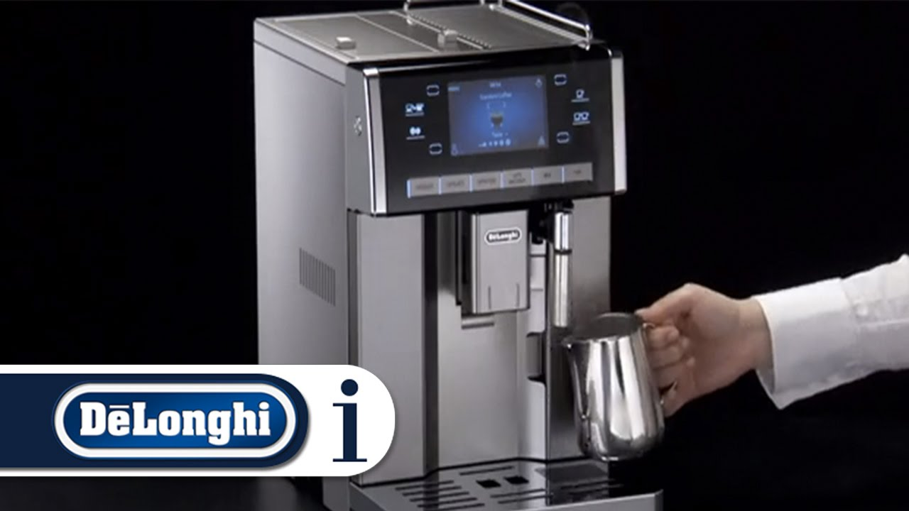 How To Deliver Steam On Your Delonghi Primadonna Exclusive Esam