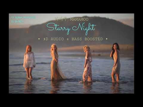 마마무 MAMAMOO - 별이 빛나는 밤 Starry Night • 3D AUDIO + BASS BOOSTED •