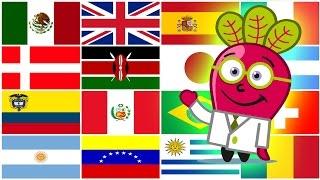 Video 🌎 PAISES DEL MUNDO PARA NIÑOS Banderas Capitales Geo ABC download MP3, 3GP, MP4, WEBM, AVI, FLV Juli 2018