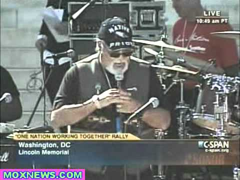 White People Would Still Be Lost In the Forest If Not For Native Americans! Charlie Hill DC Rally