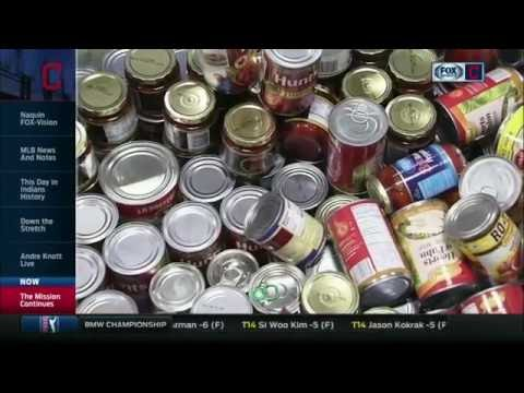 FOX Sports Ohio/SportsTime Ohio, The Mission Continues volunteer at Greater Cleveland Food Bank