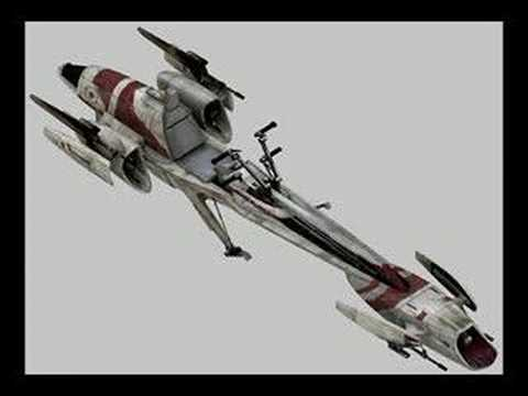 Star Wars- The Galactic Republic's Vehicles/Starships (V2)