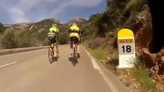 90 minute Indoor Cycling Uphill Puig Major Workout Training  Mallorca Full HD