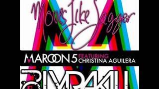 Maroon 5 ft Christina Aguilera- Moves Like Jagger Club Remix (Lyrakill)