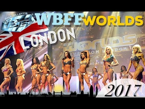 WBFF PRO WORLDS LONDON 2017 | BIKINI, FITNESS & MUSCLE MODEL MOTIVATION | LITTLE VENICE LONDON VLOG