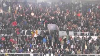اغاني و صور رائعة يصنعها الجمهور الجزائري لكرة اليد في can 2014