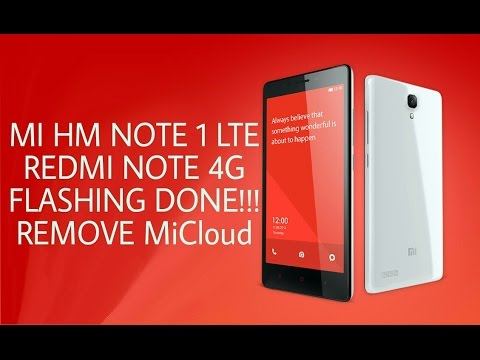 Flash MI HM NOTE 1 LTE 4G 2014712, miui ver8 1 2 0 conect to the network to  activate device