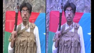 Young Baloch fighter dares China before he carried out scuicide attack - Balochistan News