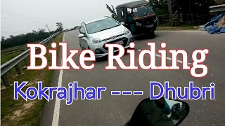 Kokrajhar to Dhubri | Hero Glamour Riding | Bhumki Boyz