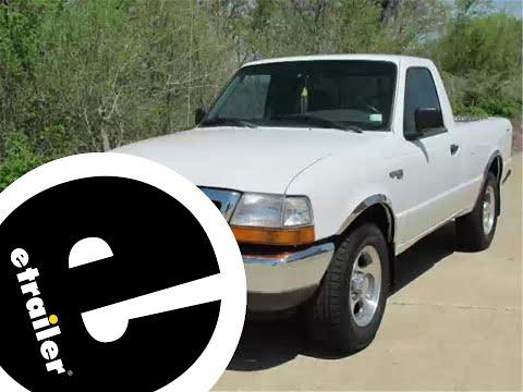 etrailer   trailer wiring harness installation - 1999 ford ranger - youtube  youtube