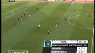 томь 0-2 ЦСКА