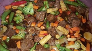 AIRFRYER Beef &amp Vegetables Recipe Todd English AIR FRYER