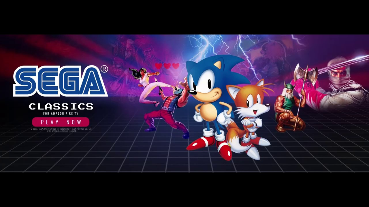 Amazon Fire Tv Gets 25 Sega Genesis Classics Pcmag