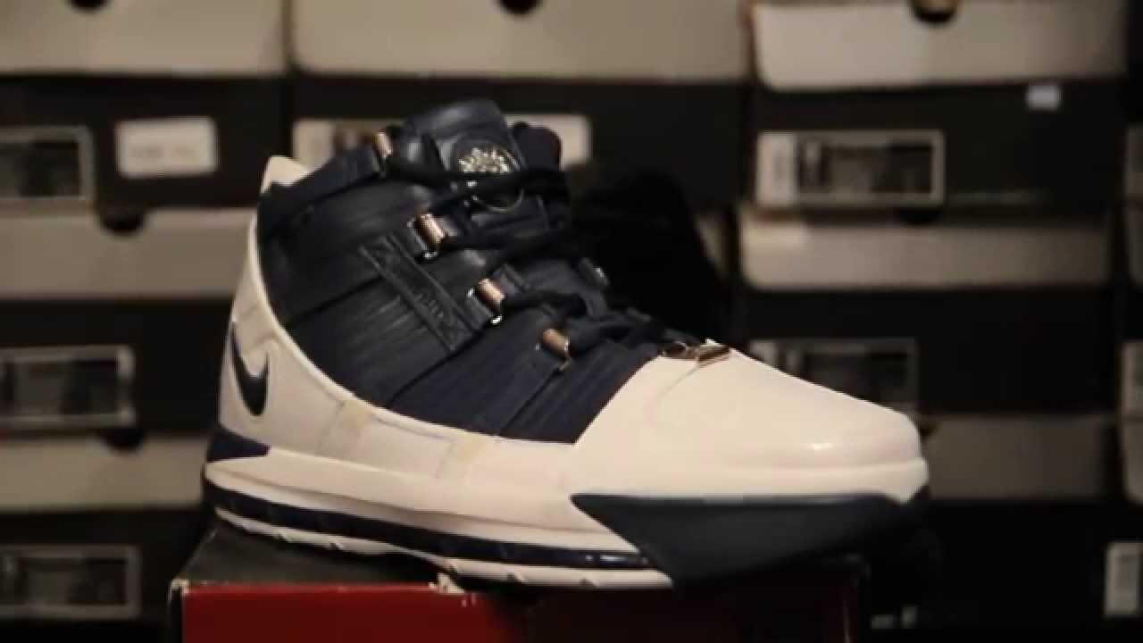 54f427c047cf8 2006 Nike Zoom LeBron 3 (III)   Midnight Navy   - YouTube