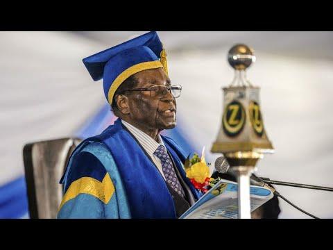 """Zimbabwe: Who is """"the crocodile"""" Emmerson Mnangagwa, Mugabe's main opponent?"""