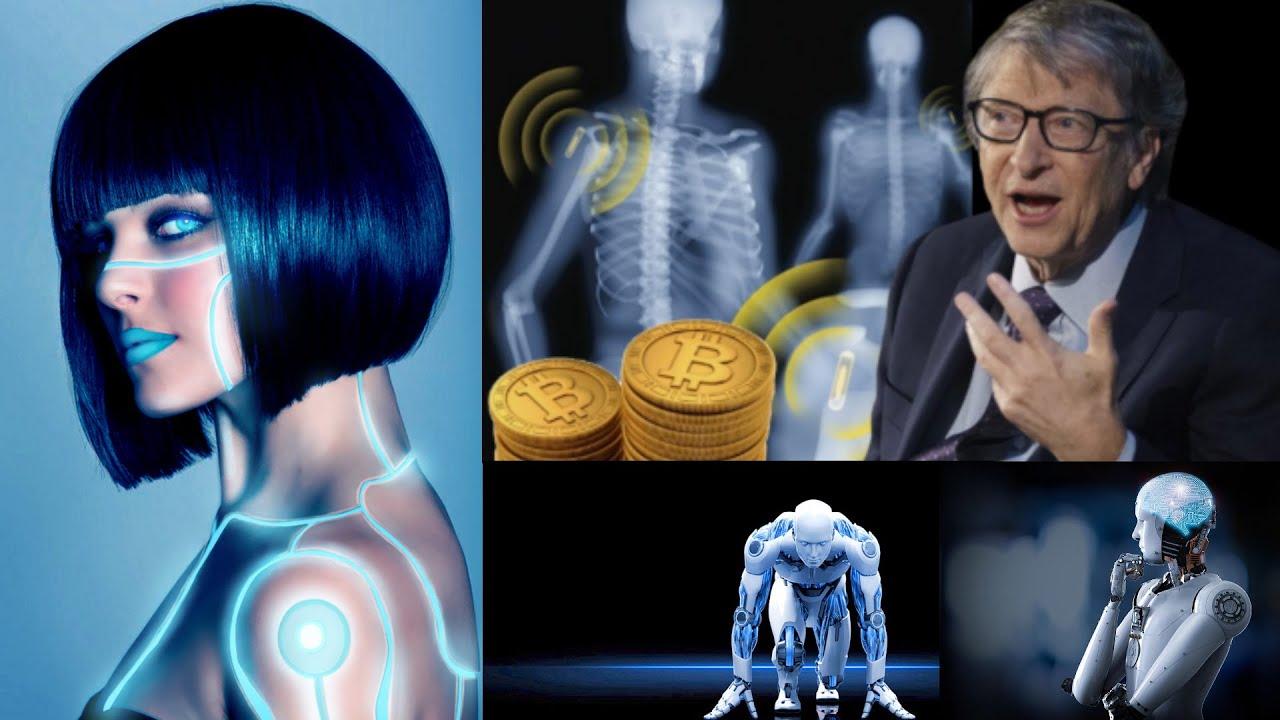 Microsoft usara el Microchip de tu Cuerpo para Crear Criptomonedas. Robots Bio Ciberneticos
