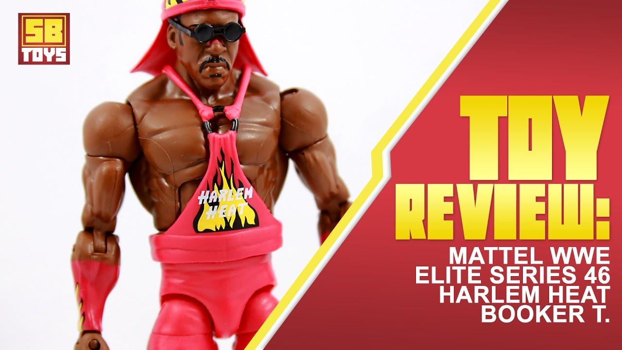 Wwe Elite Collection Series 46 Mattel Brand New Booker T Figure -