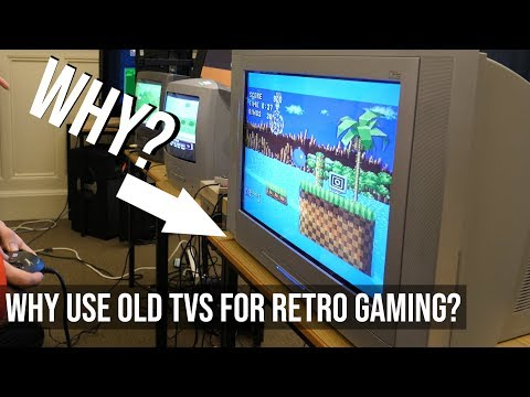 Why Do Retro Gamers Use Old TVs?