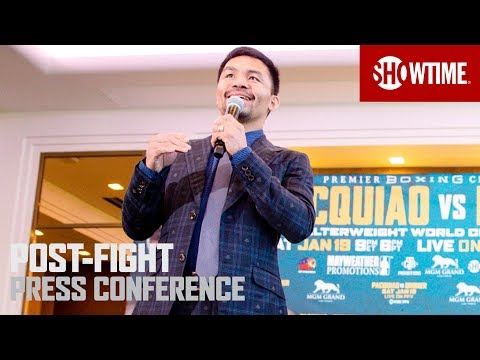 Pacquiao vs. Broner: Post-Fight Press Conference | SHOWTIME PPV