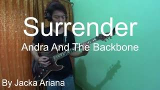 Andra And The Backbone Surrender