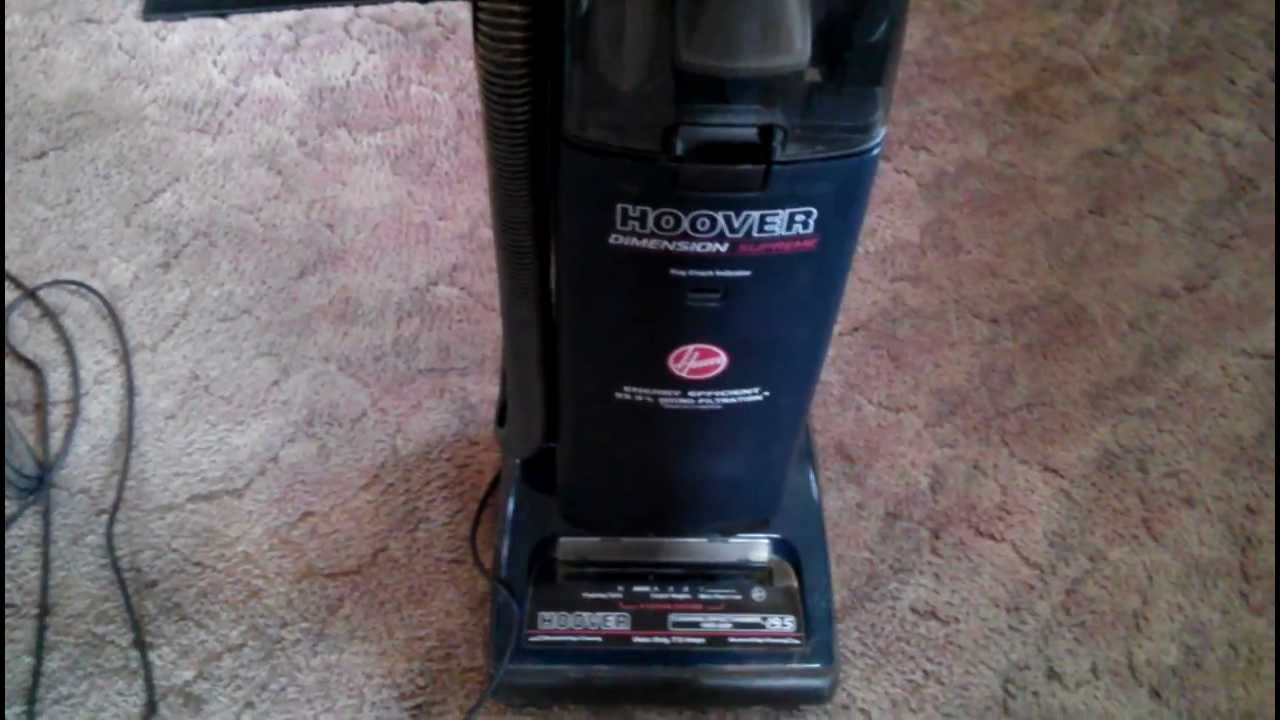 New Vacuum Hoover Dimension Supreme