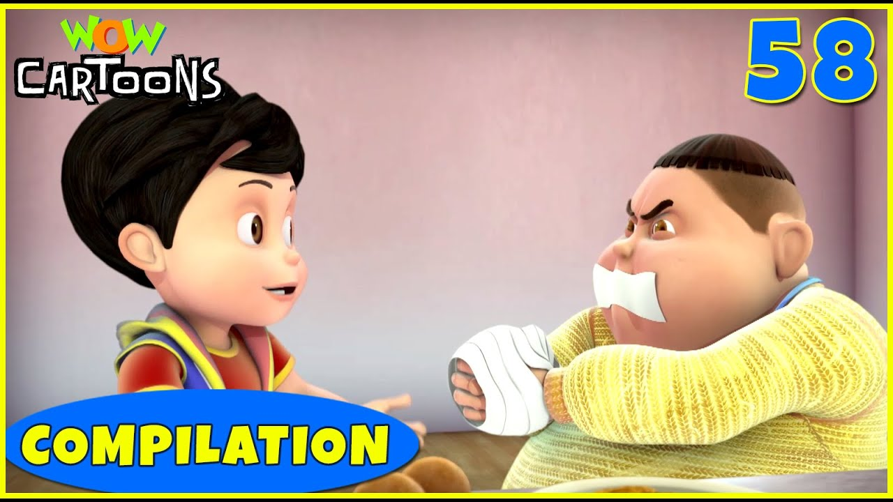 Download Vir the robot boy | Action Cartoon Video | New Compilation - 58 | Kids Cartoons | Wow Cartoons