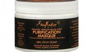 In Review: Shea Moisture Organic African Black Soap Purification Hair Masque