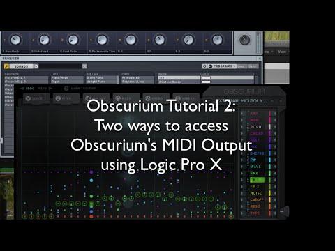 OBSCURIUM 2: Accessing MIDI Output
