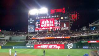 Washington Nationals clinch 2012 playoff spot!
