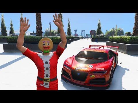 GTA 5 CHRISTMAS UPDATE - SNOW, NEW CAR, NEW CHRISTMAS CLOTHING & MASKS (GTA 5 Festive Surprise 2016)